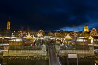 Schwimmender Weihnachtsmarkt.Schwimmender Christkindlmarkt Vilshofen 2017
